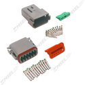 Deutsch DT 12-Way Connector Kit with Solid Contacts