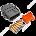 Deutsch DTM 12-Way Plug Kit with Terminals