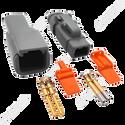 Deutsch DTM 2-Way Connector Kit w. Wedges & Gold Plated Terminals