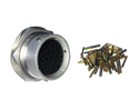 Deutsch HD30 47-Way Mixed Alloy Bulkhead Receptacle with Sockets
