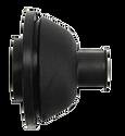 Bulkhead Panel Grommet 21mm for 75mm Hole - Black