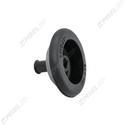 Bulkhead Panel Grommet - 5mm for 41mm Hole, 35mm Long - Black