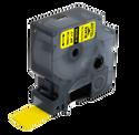 Rhino Compatible Heat Shrink Cartridge - 19mm x 1.5m - Yellow