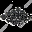 Injector Seal Kit for 4 x 11mm Injectors - Toyota, Mitsubishi, Subaru etc. (excludes Nissan)