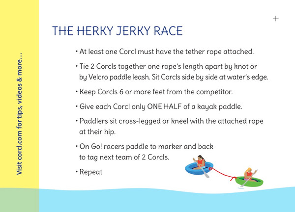 Sample CORCL Race Game Card