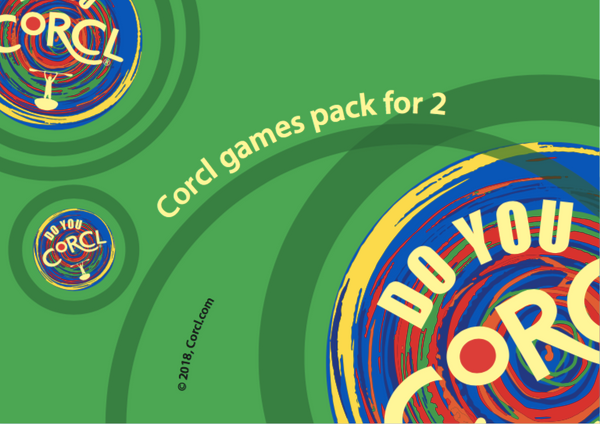 CORCL Games Pack for 2 CORCLs