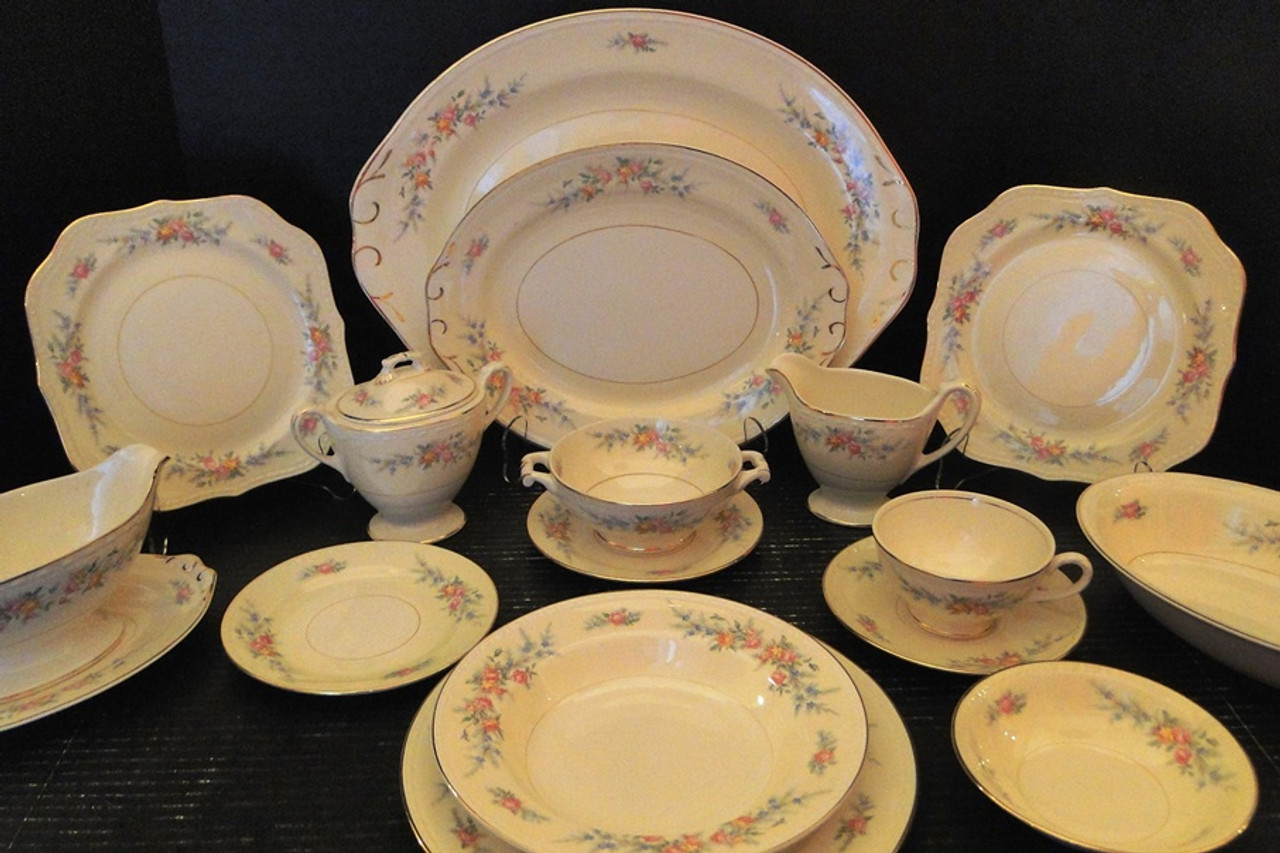 Homer Laughlin Eggshell Nautilus Georgian Vintage Dinnerware Collectible Tableware Replacements