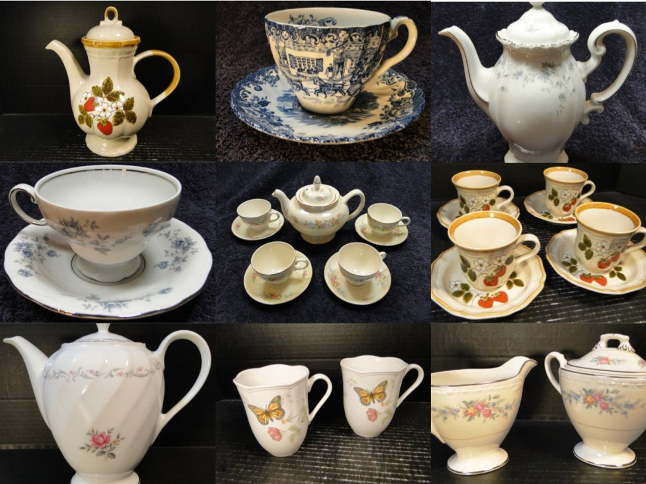 Tea Cups Tea Party Sets Serving Sets Replacement Dinnerware