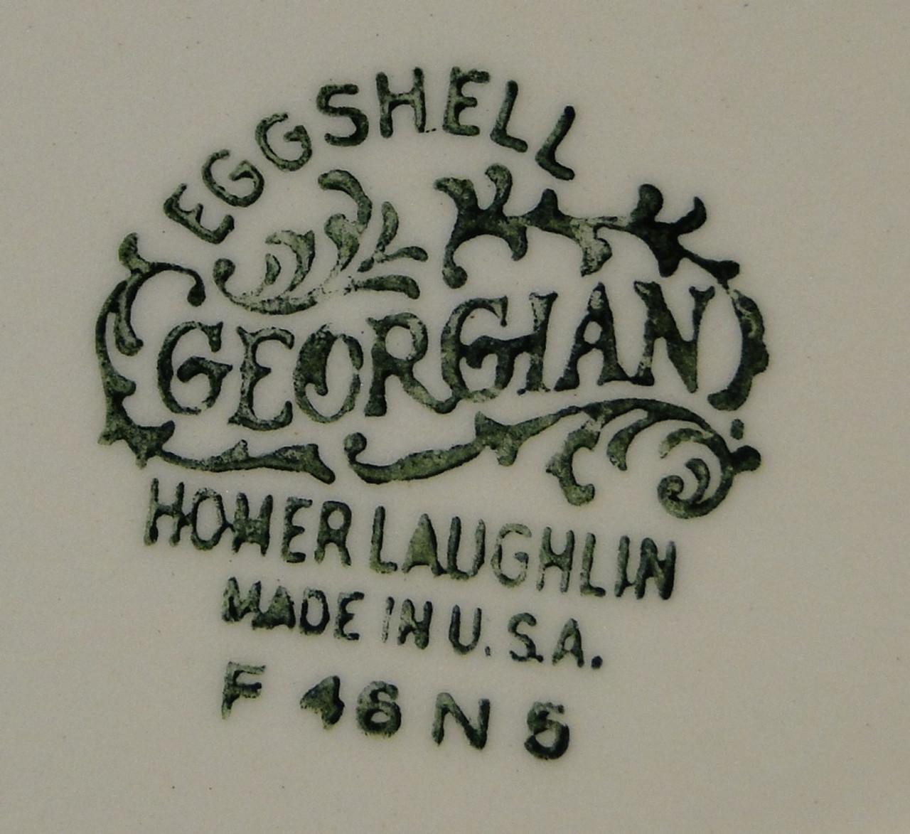 Homer Laughlin Eggshell Georgian