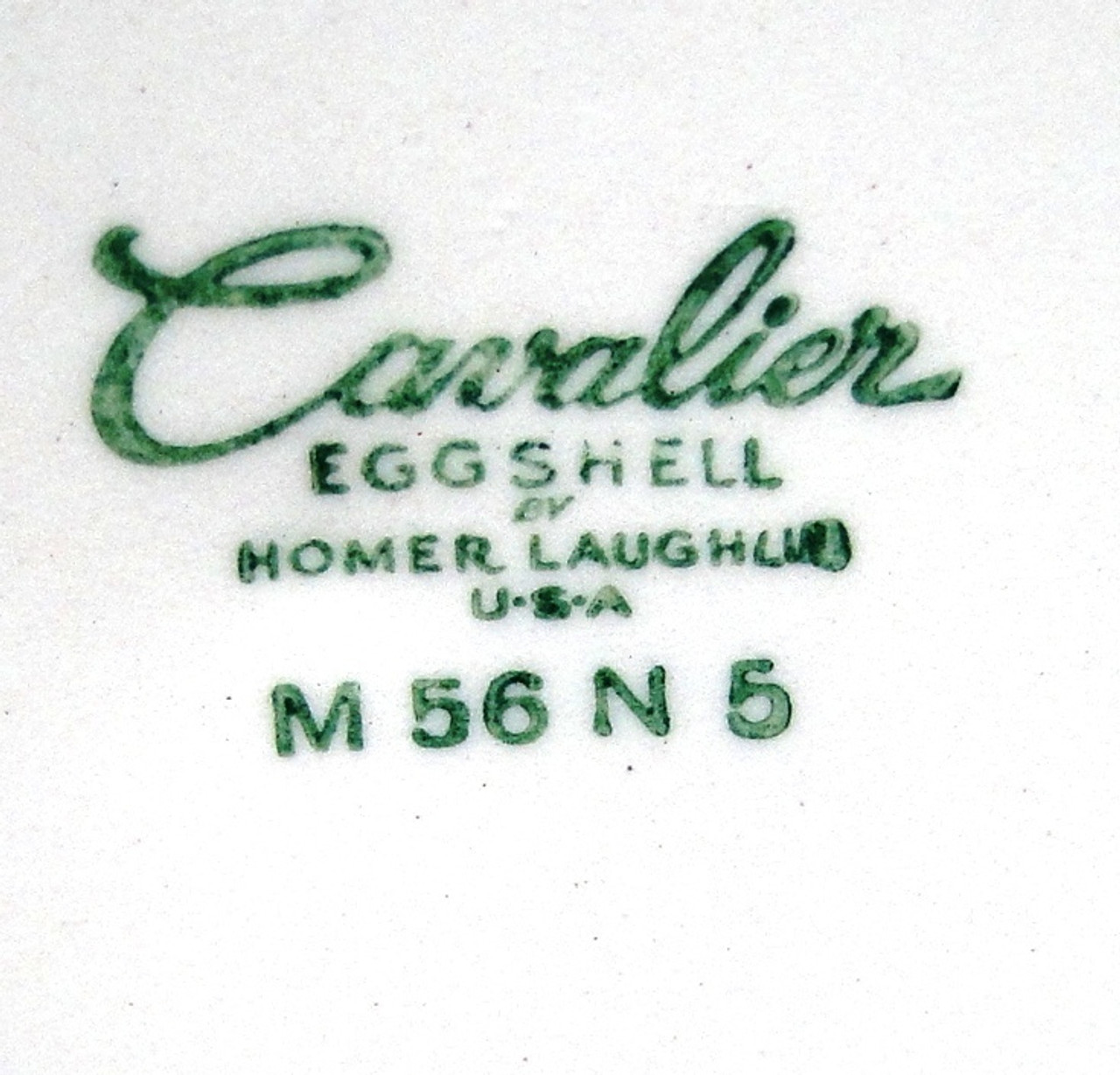 Homer Laughlin Eggshell Cavalier