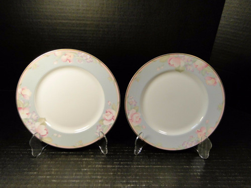 "Mikasa Braemar Salad Plates 7 1/2"" L2031 Set of 2 