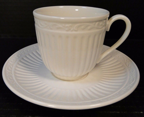 Mikasa Italian Countryside Tea Cup Mug Saucer Set DD900 | DR Vintage Dinnerware and Replacements