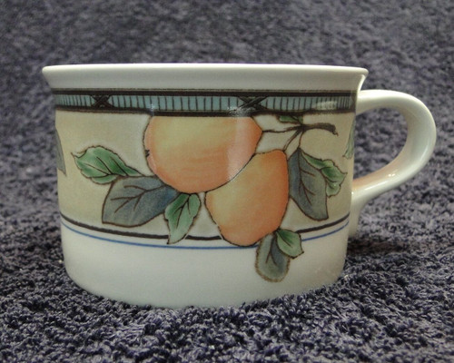 Mikasa Intaglio Garden Harvest Mugs Cups CAC29 | DR Vintage Dinnerware and Replacements