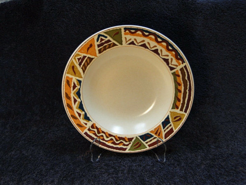 "Mikasa Jamboree Intaglio Soup Pasta Cereal Bowl 9 1/2"" CAA37 