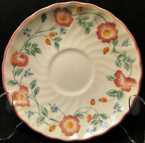 "Churchill Briar Rose Saucer 5 1/2"" England 