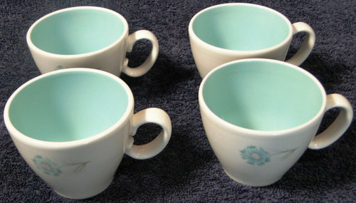 Taylor Smith Taylor Boutonniere Cups Ever Yours Mid Century Set of 4 | DR Vintage Dinnerware and Replacements