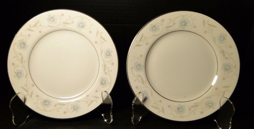 "Fine China of Japan English Garden 1221 Bread Plates 6 1/4"" Set of 2 