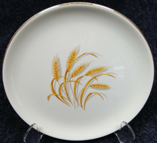Homer Laughlin Golden Wheat Salad Plate 7 1/4"