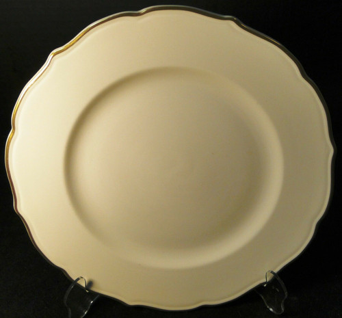 "Syracuse Gourmet Dinner Plate 10 1/2"" Vintage Restaurant Ware 