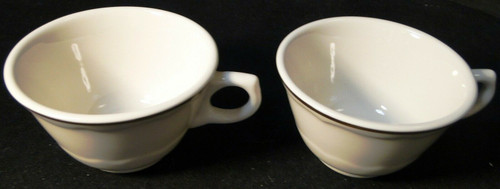 Syracuse Gourmet Tea Coffee Cups Vintage Restaurant Ware Set of 2 | DR Vintage Dinnerware and Replacements