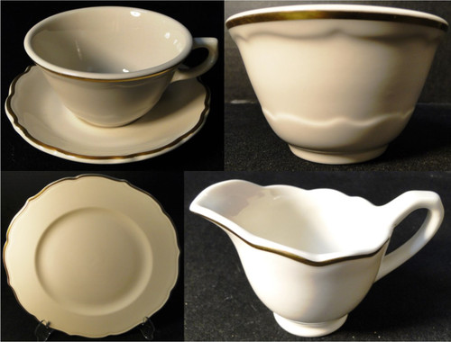 Syracuse Gourmet Restaurant Ware | DR Vintage Dinnerware and Replacements