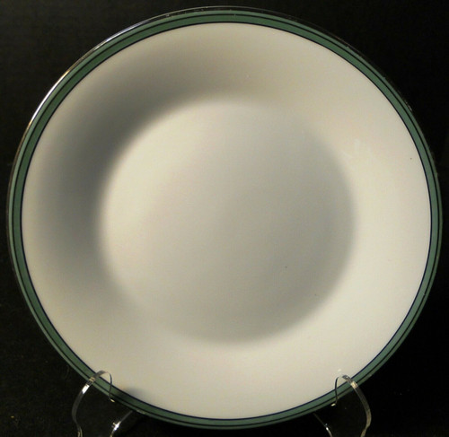 """Noritake Royale Mint Salad Plate 8 1/4"""" 6538 Green Band 