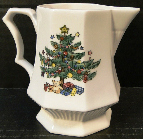 Nikko Christmastime Creamer Christmas Tree Coffee Tea | DR Vintage Dinnerware and Replacements