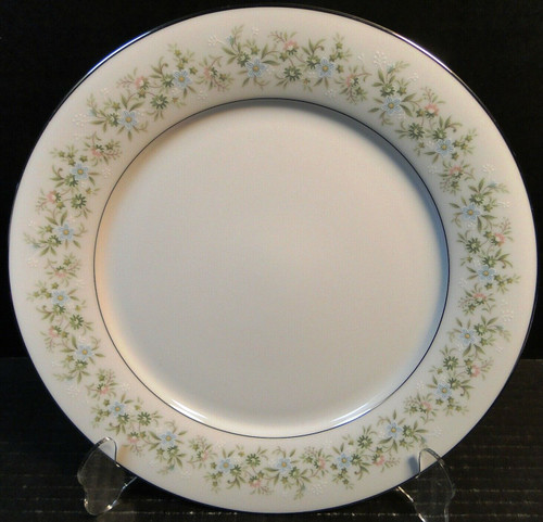 "Noritake Savannah Dinner Plate 10 1/2"" 2031 Green Floral 
