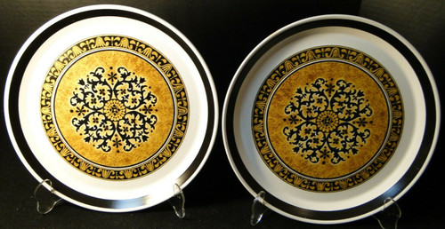 "Mikasa Studio Kraft Cortez Dinner Plates 10 5/8"" E3712 Set of 2 