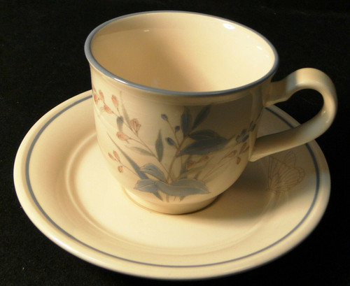 Noritake Keltcraft Ireland Kilkee tea Cup Saucer Set 9109 | DR Vintage Dinnerware and Replacements
