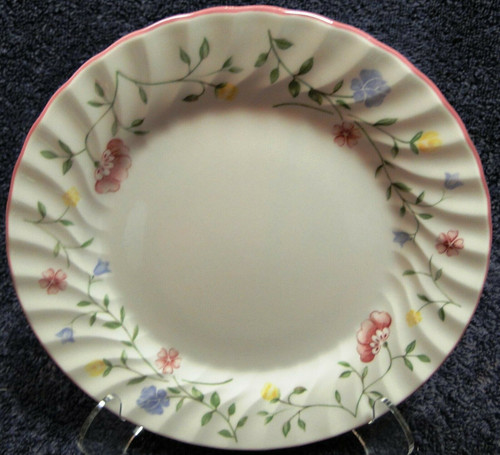 "Johnson Brothers Summer Chintz Salad Plate 7 3/4"" Green Mark 