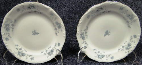 """Johann Haviland Blue Garland Traditions Bread Plates 6 1/4"""" Set of 2 