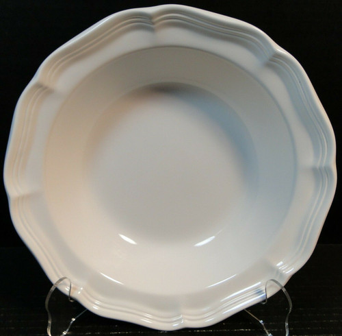 """Mikasa French Countryside Vegetable Serving Bowl 9 3/4"""" F9000 White 