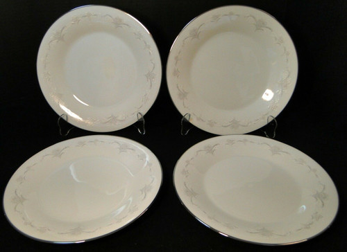 "Noritake Casablanca Dinner Plates 10 1/2"" 6127 Set of 4 