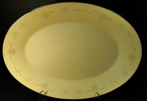 """Noritake Casablanca Large Oval Platter 16"""" 6127 