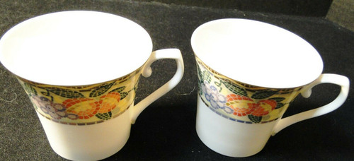Mikasa Ultima+ Chelsea Court Tea Cups HK704 Set of 2 | DR Vintage Dinnerware and Replacements