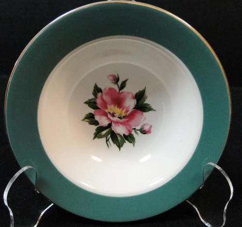 Homer Laughlin Century Service Empire Green Berry Bowl 5 7/8"