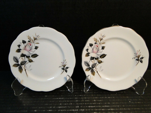 "Royal Albert Queen's Messenger Bread Plates 6 1/4"" Set of 2 