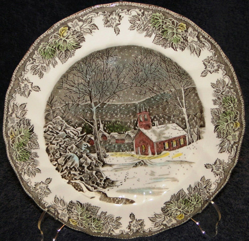 Johnson Brothers Friendly Village School House Dinner Plate 9 7/8"