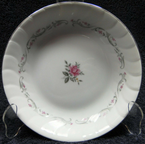"Fine China of Japan Royal Swirl Soup Bowl 7 3/4"" Salad 