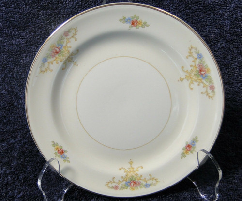 Homer Laughlin Eggshell Nautilus Rochelle Bread Plate | DR Vintage Dinnerware and Replacements