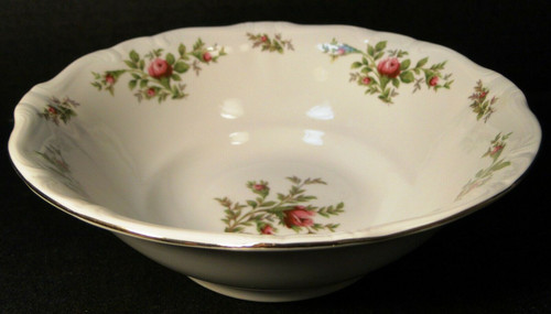 Johann Haviland Traditions Moss Rose Vegetable Serving Bowl 8 1/2"