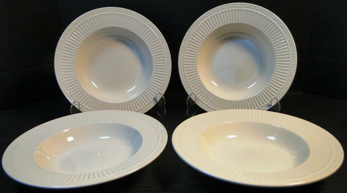 "Mikasa Italian Countryside Soup Bowls 9 1/2"" DD900 Rim Salad Set of 4 