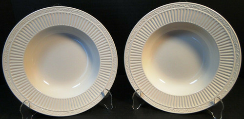 "Mikasa Italian Countryside Soup Bowls 9 1/2"" DD900 Rim Salad Set of 2 