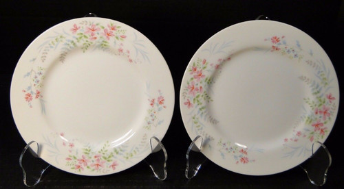 Mikasa Fern Rose Bread Plates 6 1/2  L2005 2 | DR Vintage Dinnerware and Replacements