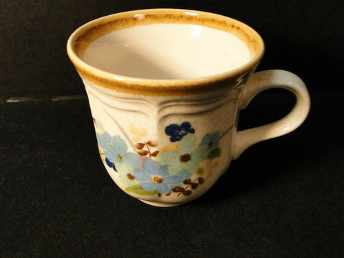 Mikasa Blue Sonnet Tea Cup Mug Garden Club EC407 Excellent