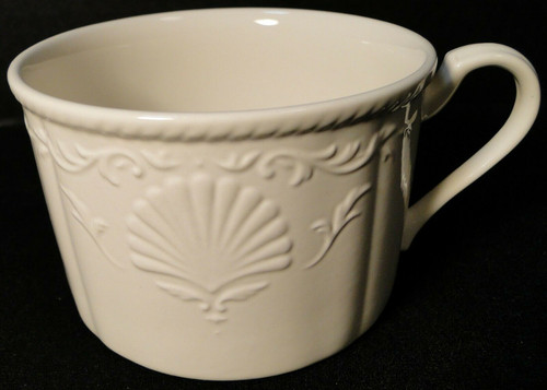 Mikasa South Hampton White Tea Cup Mug DY 902   DR Vintage Dinnerware and Replacements