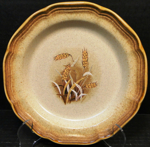 """Mikasa Whole Wheat Granola Salad Plate 8"""" E8001 