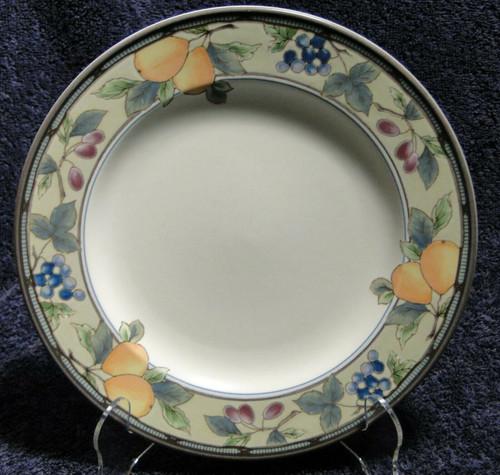"Mikasa Garden Harvest Intaglio Salad Plate 8 3/8"" CAC29 Orange Excellent"