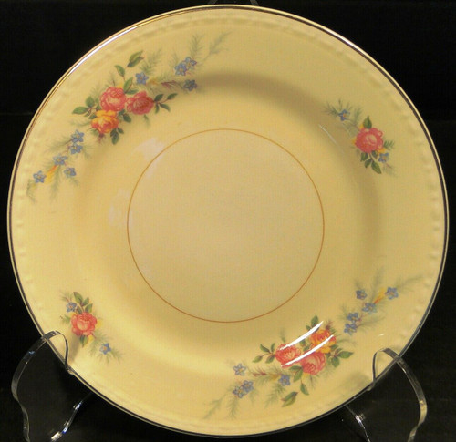 Homer Laughlin Eggshell Georgian Cashmere Bread Plate 6 1/4"